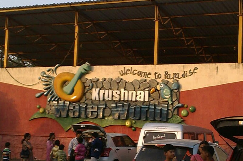 Amusement parks in Pune - Krushnai Water Park