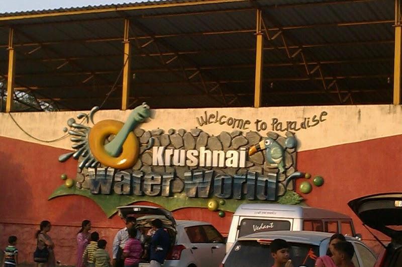 Amusement parks in Pune - Krushnai Water Park