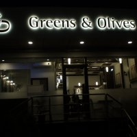 greens and olives main