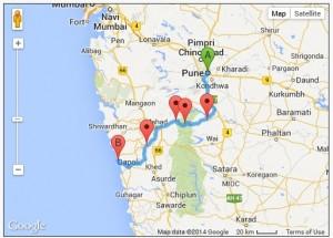 Harnai Map